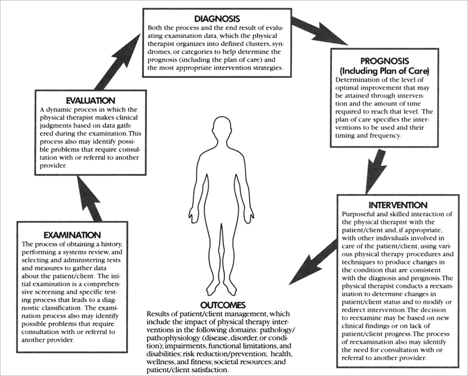 patient-client management model for physical therapy